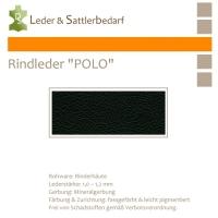 """Rind-Möbelleder """"POLO"""" - 7501 nero"""