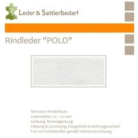 Rind-Möbelleder POLO - 7502 bianco