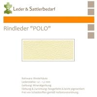 """Rind-Möbelleder """"POLO"""" - 7503 cream"""