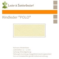 Rind-Möbelleder POLO - 7503 cream