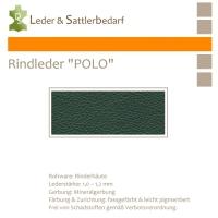 """Rind-Möbelleder """"POLO"""" - 7504 verde"""