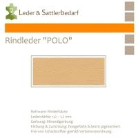 """Rind-Möbelleder """"POLO"""" - 7505 ivory"""