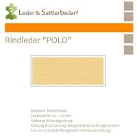 "Rind-Möbelleder ""POLO"" - 7506 bone"