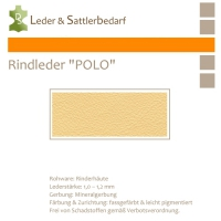 Rind-Möbelleder POLO - 7506 bone