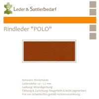 Rind-Möbelleder POLO - 7520 mattone