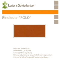 Rind-Möbelleder POLO - 7522 ossido