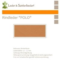 """Rind-Möbelleder """"POLO"""" - 7524 camello"""