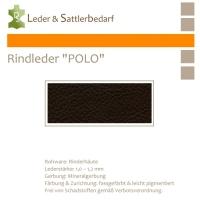 "Rind-Möbelleder ""POLO"" - 7536 espresso"