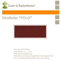 """Rind-Möbelleder """"POLO"""" - 7555 mora"""