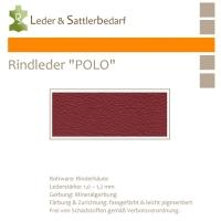 "Rind-Möbelleder ""POLO"" - 7557 tiziano"