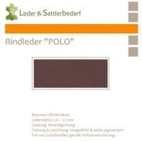 "Rind-Möbelleder ""POLO"" - 7566 magenta"