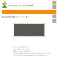 Rind-Möbelleder POLO - 7594 delphino
