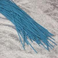 Rindleder Rundriemchen Ø 2mm - hellblau