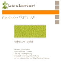 Rindleder STELLA - 274 apfel - DinA2