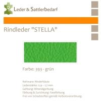 Rindleder STELLA - 393 grün - DinA3