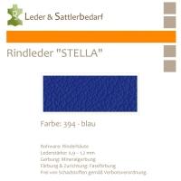 Rindleder STELLA - 394 blau - DinA3