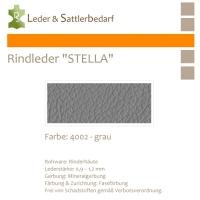 Rindleder STELLA - 4002 grau - DinA2
