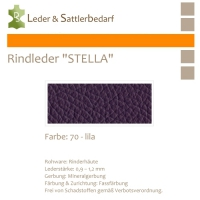 Rindleder STELLA - 70 lila - DinA2