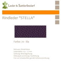 Rindleder STELLA - 70 lila - DinA3