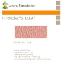 Rindleder STELLA - 71 rosa - DinA3
