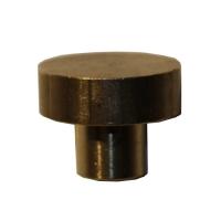 Rundteller für Lochpfeifen aus Messing - Ø 24mm