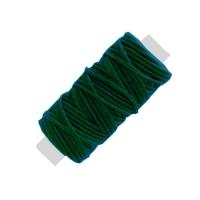 Sattlergarn gewachst - dunkelgrün