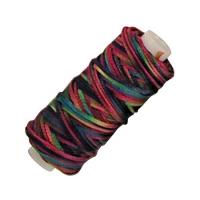 Sattlergarn gewachst - multicolor