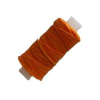 Sattlergarn gewachst - orange