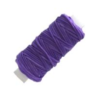 Sattlergarn gewachst - violett