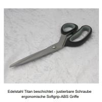 Schneiderschere Edelstahl Titan 9 - 225mm