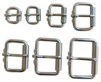 Rollschnalle stabil aus Edelstahl - 16mm