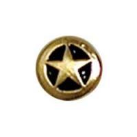 Small Star Conchos 3/8