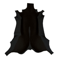 Springbockfell - schwarz