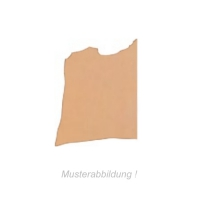 Tooling Leather - halbe Hälse natur - 3,0 - 3,5 mm