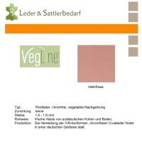 VegLine Nappa - halbe Haut - hell-rosa