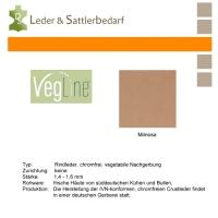 VegLine Nappa - halbe Haut - mimosa