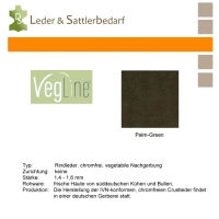 VegLine Nappa - halbe Haut - palm-green