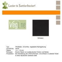 VegLine Nappa - halbe Haut - schwarz