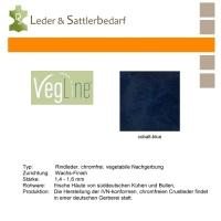 VegLine Trapper - halbe Haut - cobalt-blue