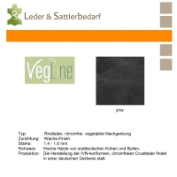 VegLine Trapper - halbe Haut - grey