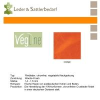 VegLine Trapper - halbe Haut - orange