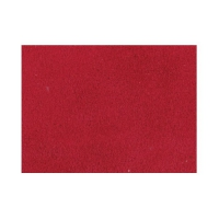 Velourleder CLASSIC - Zuschnit Din A3 - rot
